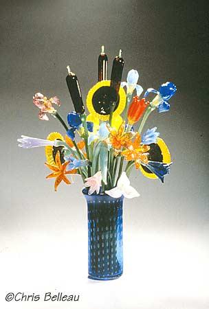 belleau art glass - Glass Flowers